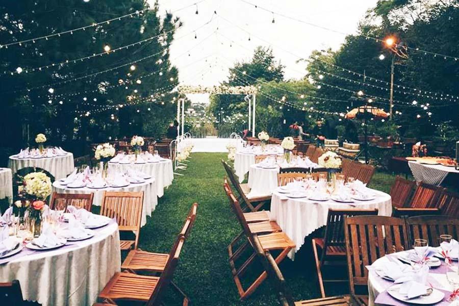 3Những điều chưa biết khi tổ chức tiệc cưới ngoài trời